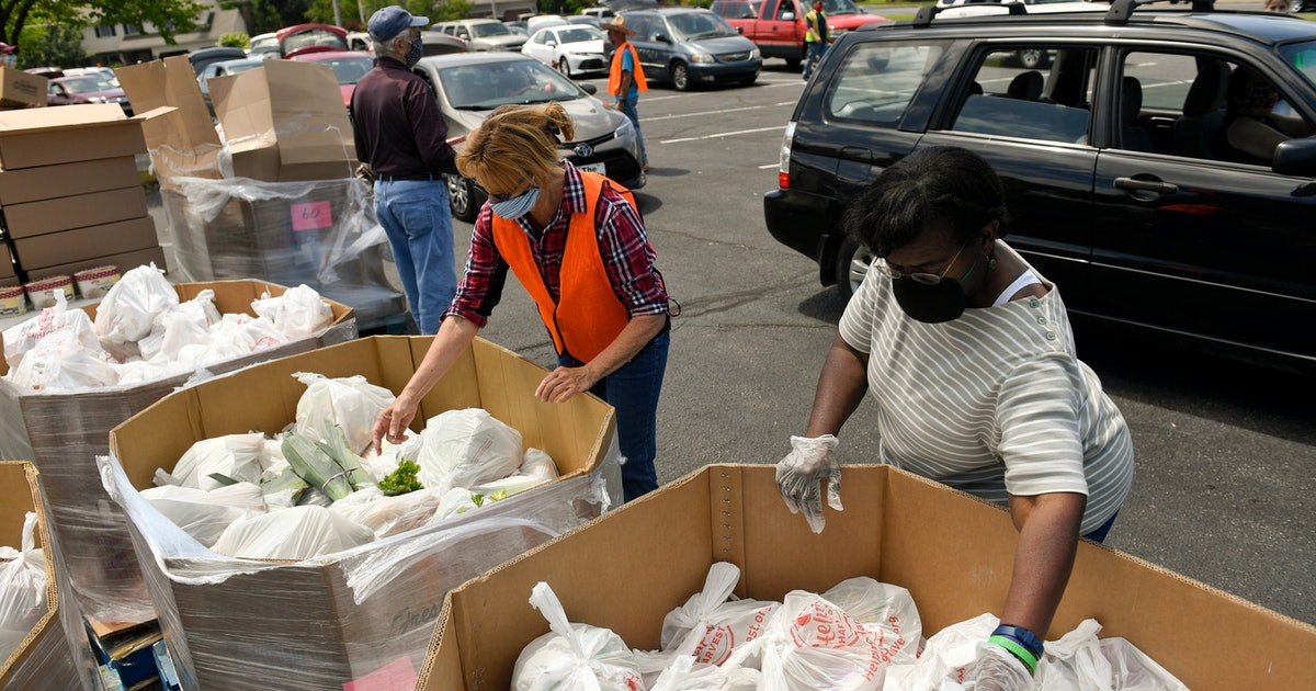 A Texas firm got a $39 million contract to deliver food. Food banks have received nothing