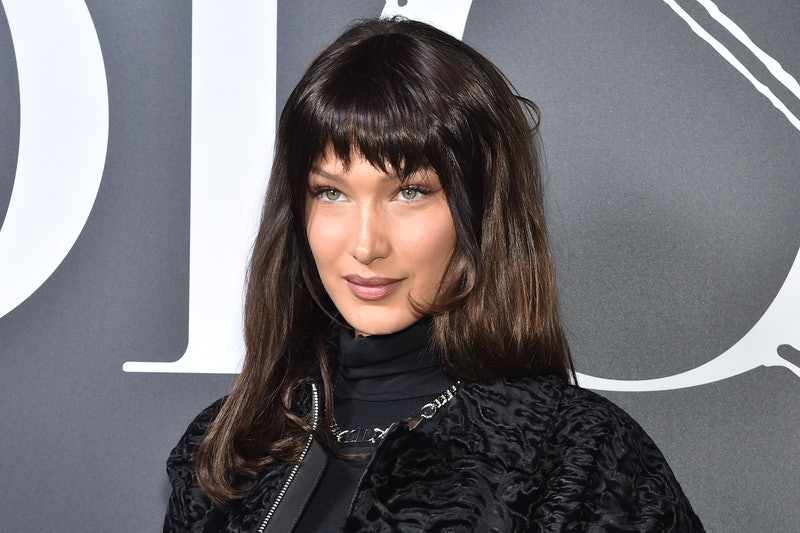 Bella Hadid's new bob with bangs is the epitome of '90s hair