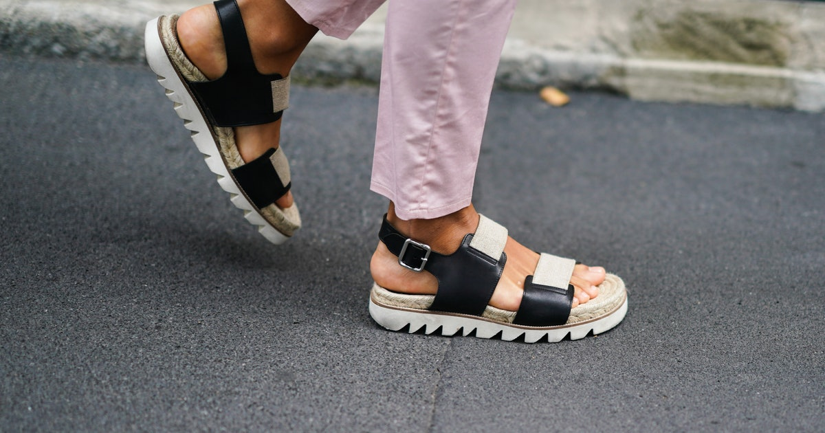 These $28 Target Sandals Nail One Of Summer's Biggest Shoe Trends