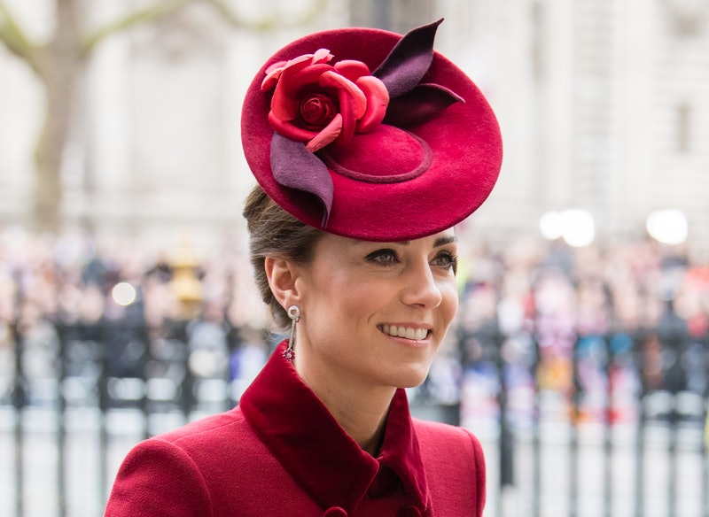 Kate Middleton's half-up, half-down hairstyle is a go-to for her Zoom calls lately