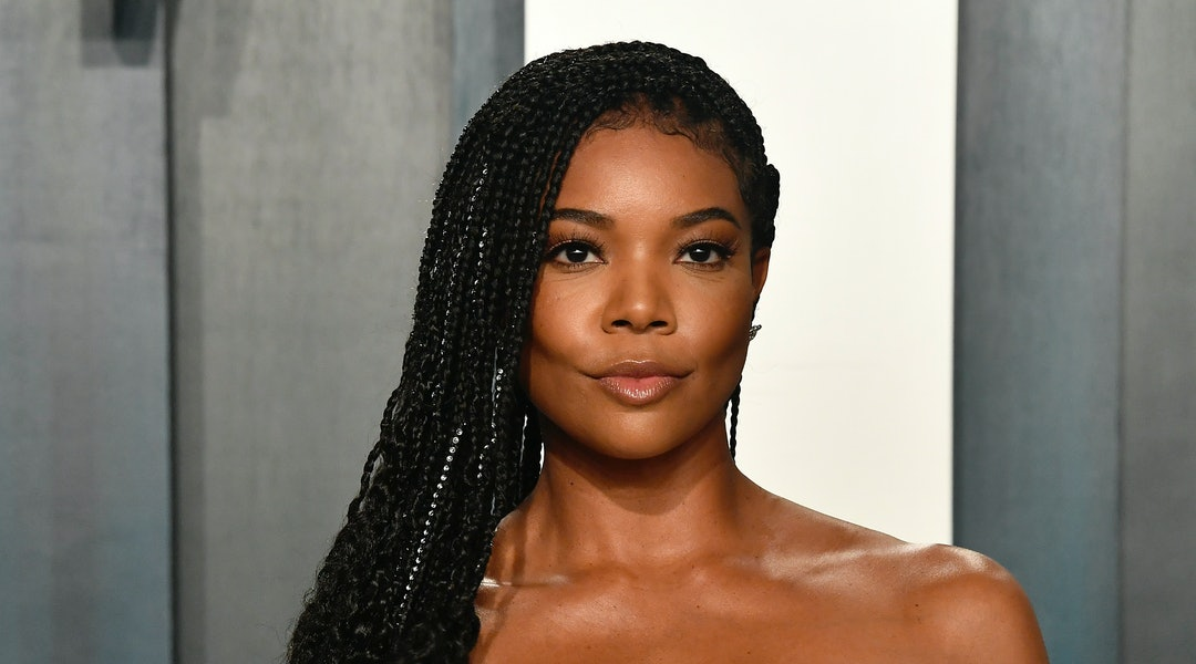 Gabrielle Union just revealed the secret behind her no-makeup makeup look and it's a Fenty Beauty bronzer