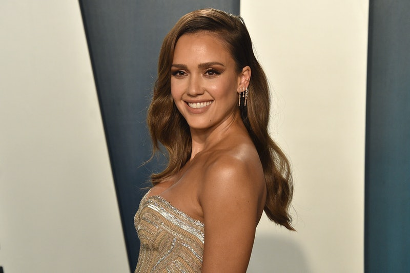 Jessica Alba tried out a new facial massager on Instagram recently.