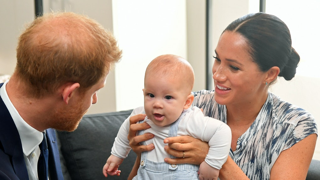 Prince Harry and Meghan Markle spend time with baby Archie.