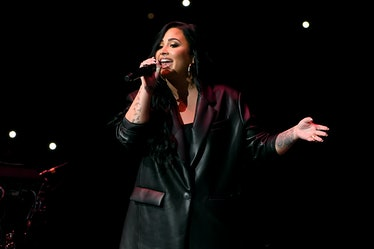 Demi Lovato performs live.