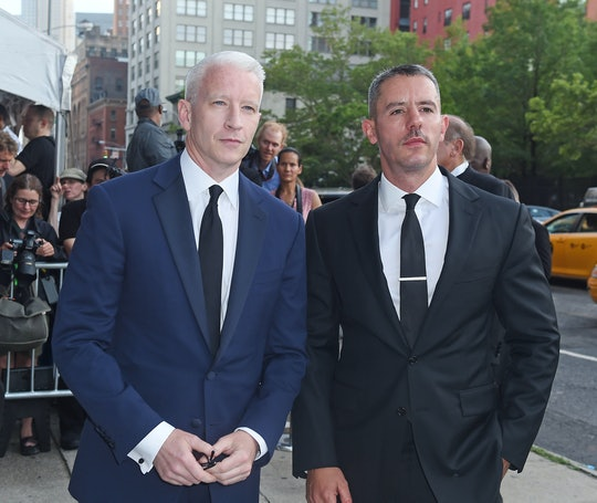 Anderson Cooper shared that he'll be co-parenting his baby boy, Wyatt, with his ex-partner.