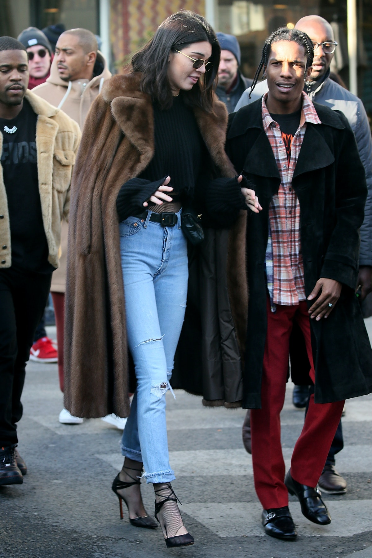 A$AP Rocky and Kendall Jenner reportedly dated.