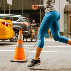A woman runs on a busy new york city street. How do you prevent yeast infections? We asked ob-gyns on their tips to prevent yeast infections.