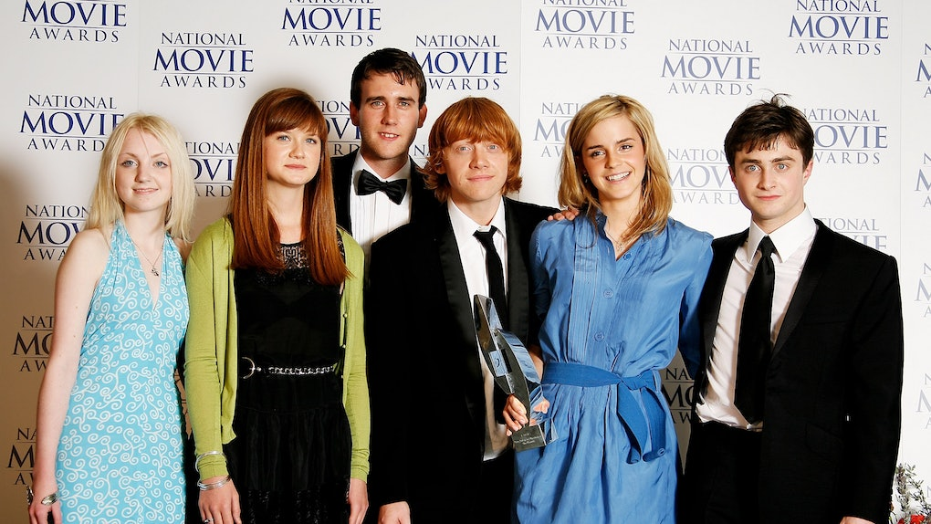 The cast of Harry Potter hit the red carpet.