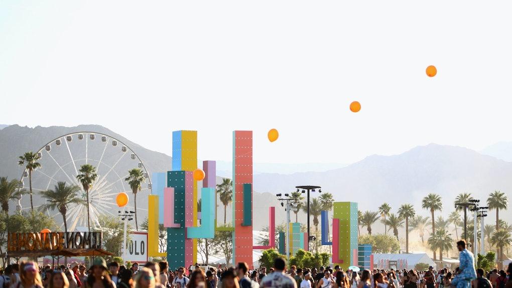 The annual Coachella Music & Arts festival in California.
