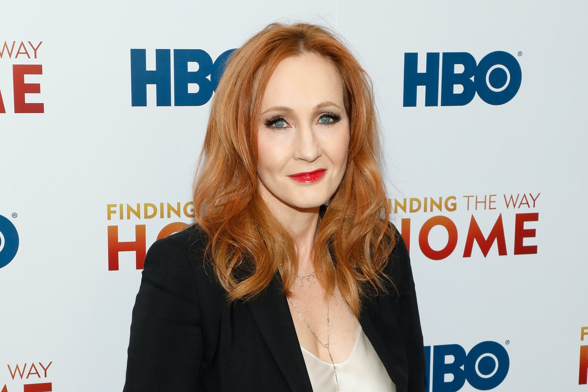 J.K. Rowling attends an event for HBO.