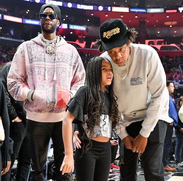 Jay-Z helps Blue Ivy meet her idol