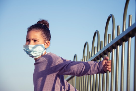 The CDC is now saying that people should wear a face mask in large groups when they now leave their house.