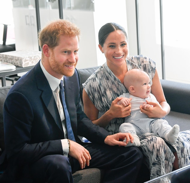 Prince Harry and Meghan Markle were super proud parents in Africa with baby Archie.