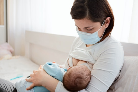 New guidance from the World Health Organization notes moms who test positive for coronavirus can breastfeed with precautions if they want to.