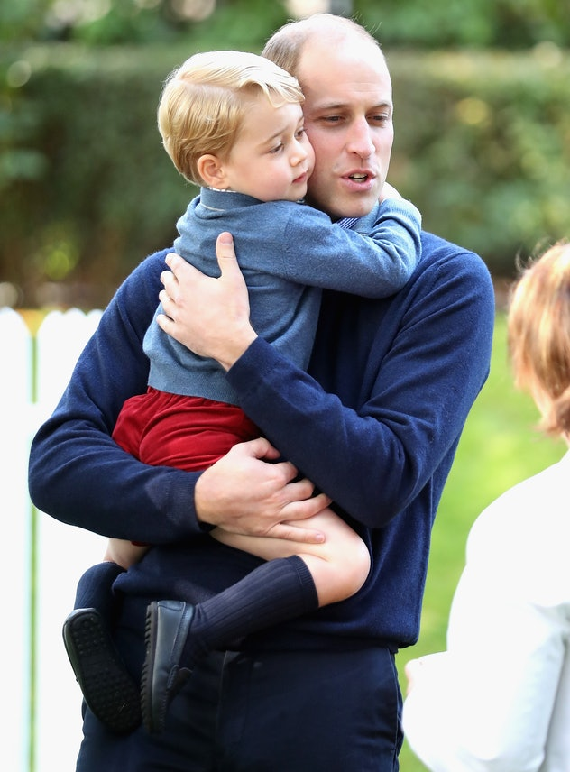 Prince William is an equal-opportunity hugger.