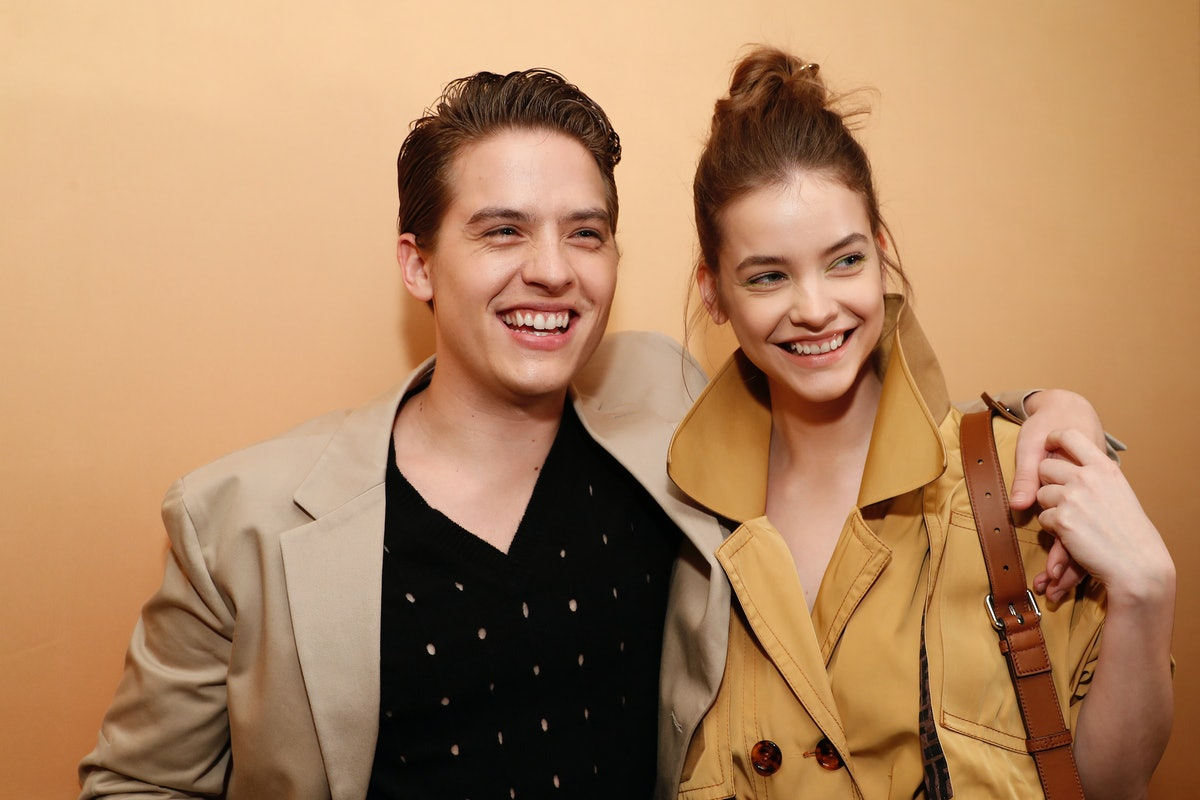 Dylan Sprouse and Barbara Palvin's relationship history began at a party.