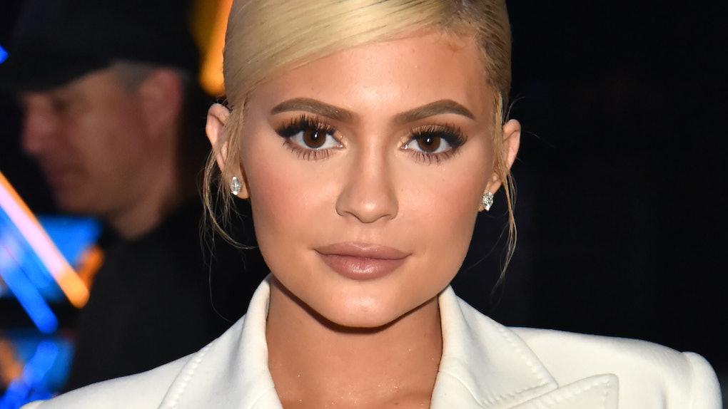 Kylie Jenner attends the VMAs.
