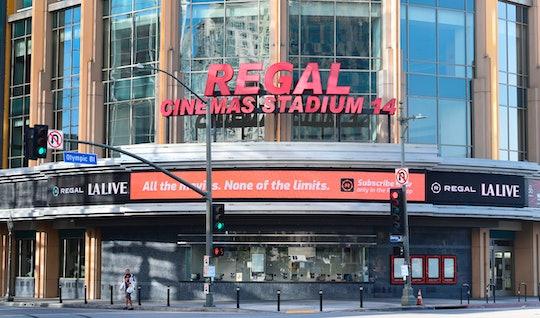 Regal Cinemas is reopening in July.