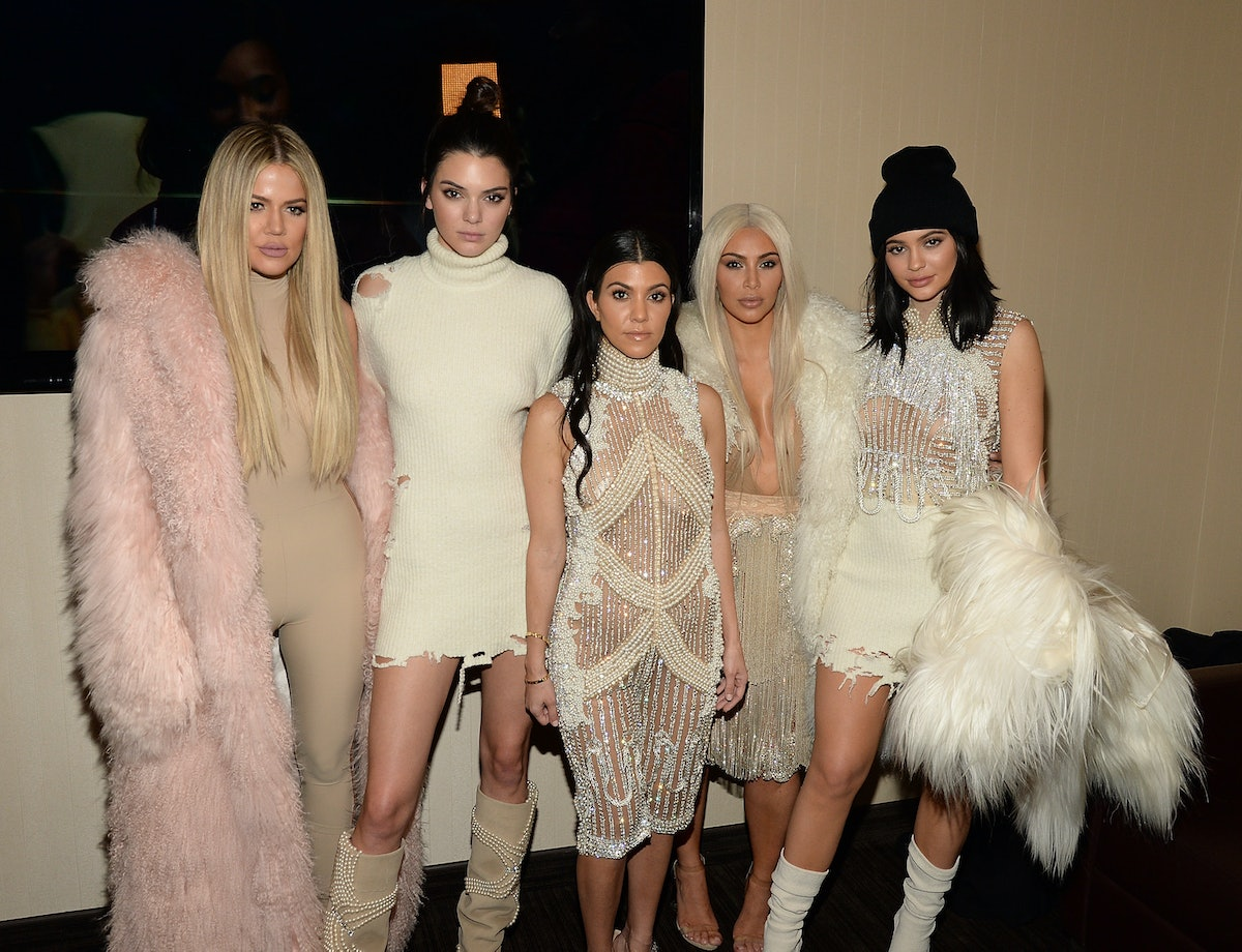 The KarJenner sisters enjoy a night out.