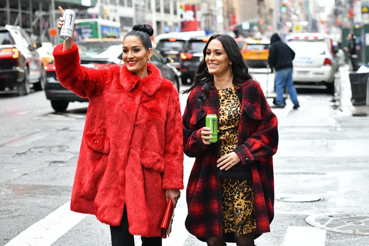 The Bella twins step out in New York City.