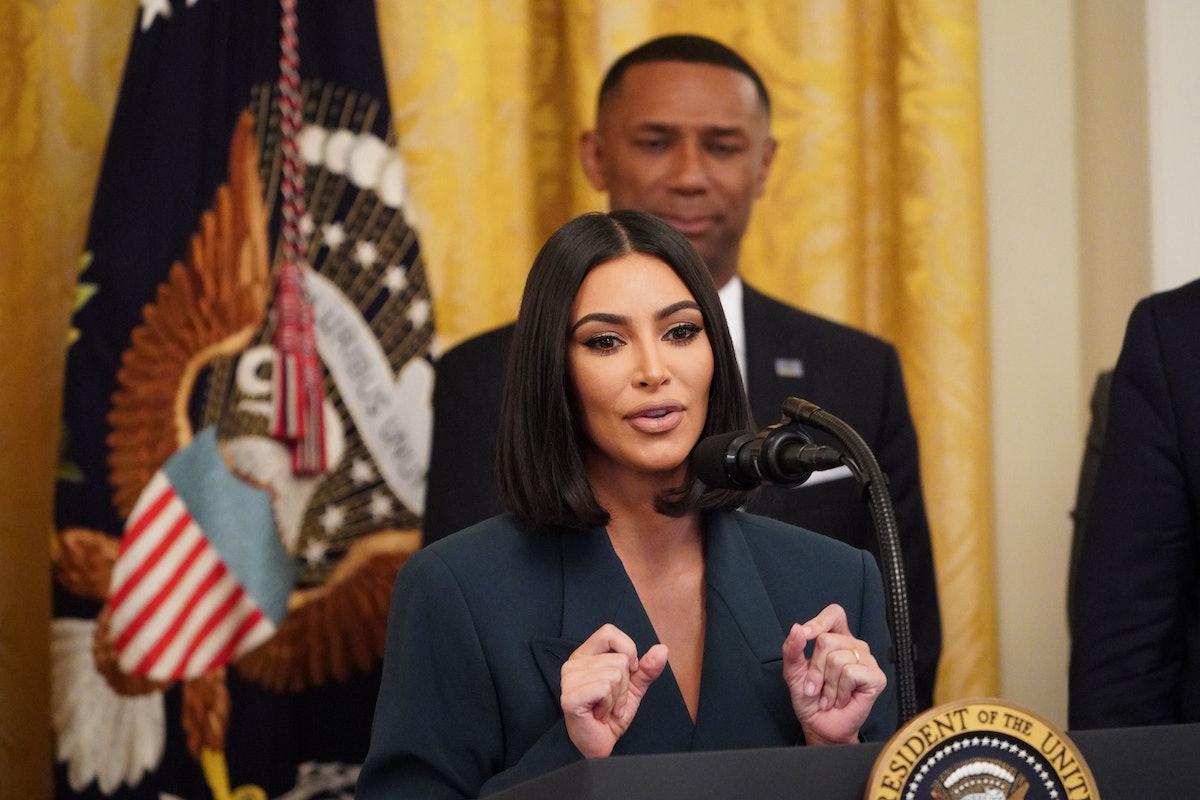Kim Kardashian speaks out on prison reform.
