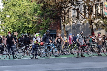 Bikes offer more flexibility, and are harder to track, than cars.
