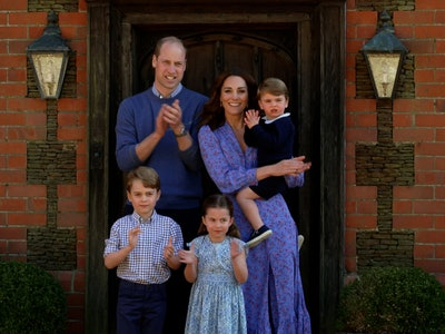 Kate Middleton snapped the sweetest pictures of the royal kids playing with Prince William in honor of his birthday and Father's Day.