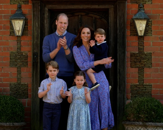 Kate Middleton snapped the sweetest pictures of the royal kids playing with Prince William in honor ...