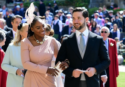 Alexis Ohanian and Serena Williams attended the royal wedding of Meghan Markle and Prince Harry toge...