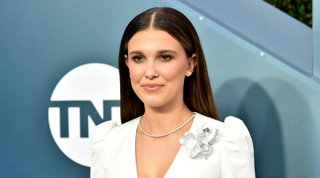 Millie Bobby Brown just debuted blonde hair and extensions on Instagram