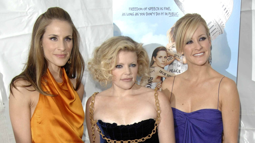 The Dixie Chicks hit the red carpet.