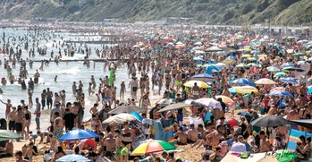 A crowded beach like this may seem alien amidst coronavirus. But as the beaches refill, dangers will lurk.