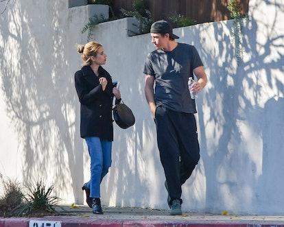 Emma Roberts is reportedly expecting her first child with boyfriend, Garrett Hedlund.