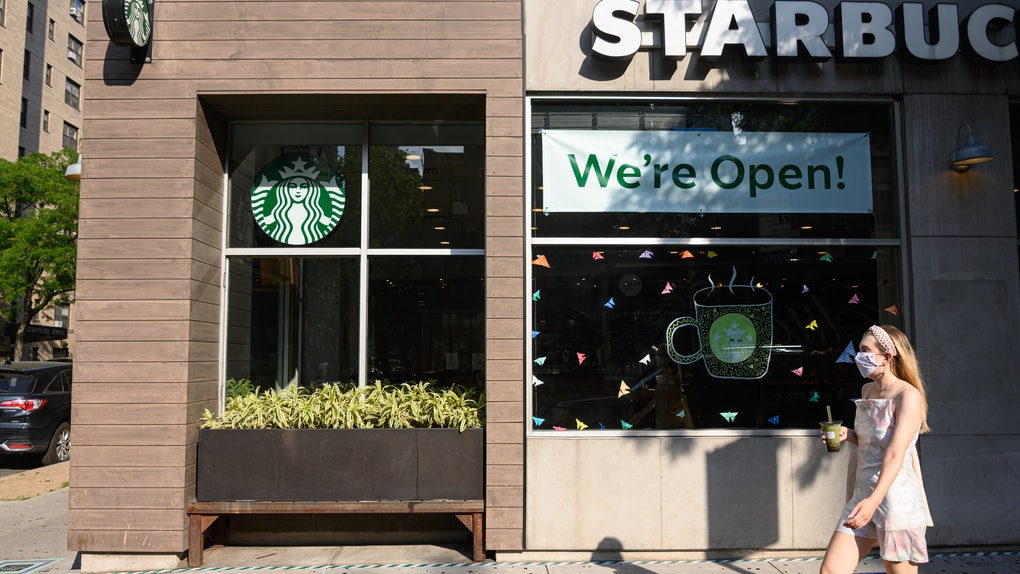 Here's what your next trip to Starbucks will look like as the pandemic continues.