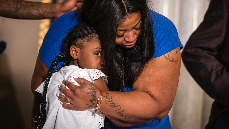Roxie Washington, the mother of George Floyd's 6-year-old daughter addressed the nation on Tuesday, June 2, telling reporters that her daughter will never have her dad walk her down the aisle.