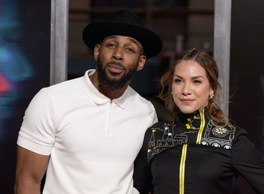"""Allison Holker and Stephen """"TWitch"""" Boss explained white privilege with such simplicity, it was devastating."""