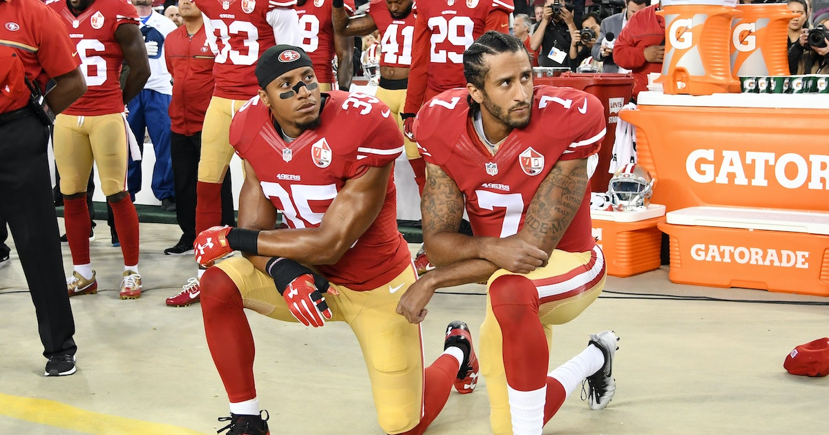 Conservatives have decided Colin Kaepernick is good, actually