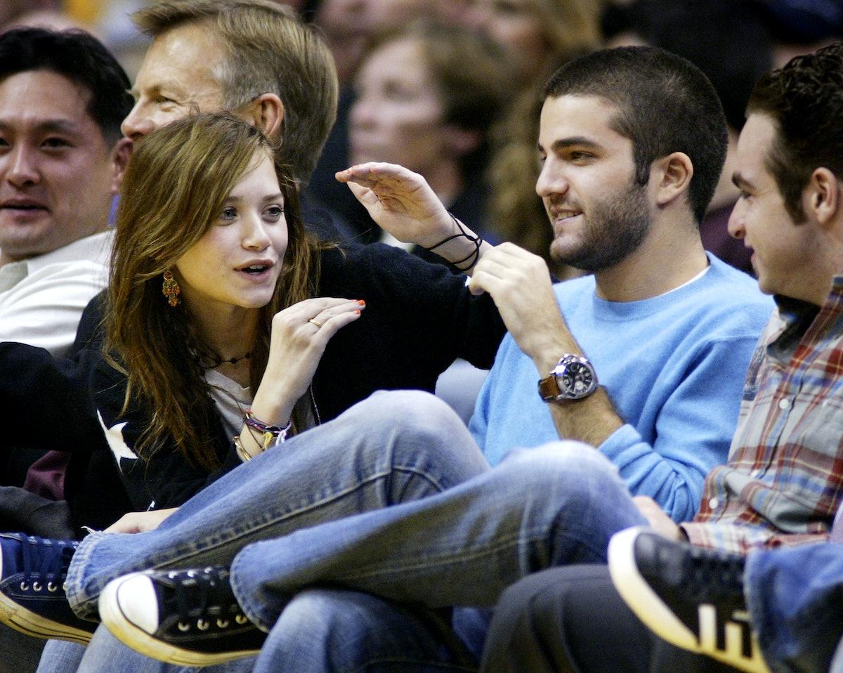 Mary-Kate Olsen's dating history includes David Katzenberg.