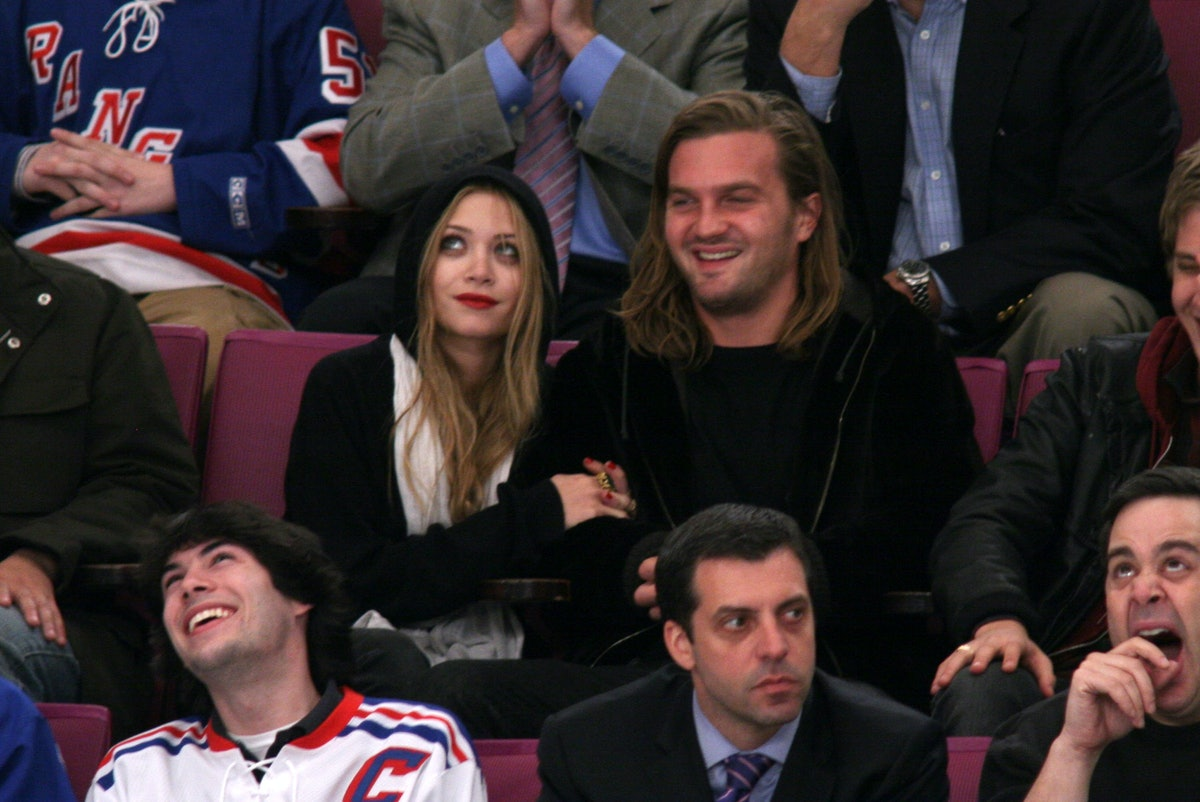 Mary-Kate Olsen's dating history includes Max Snow.