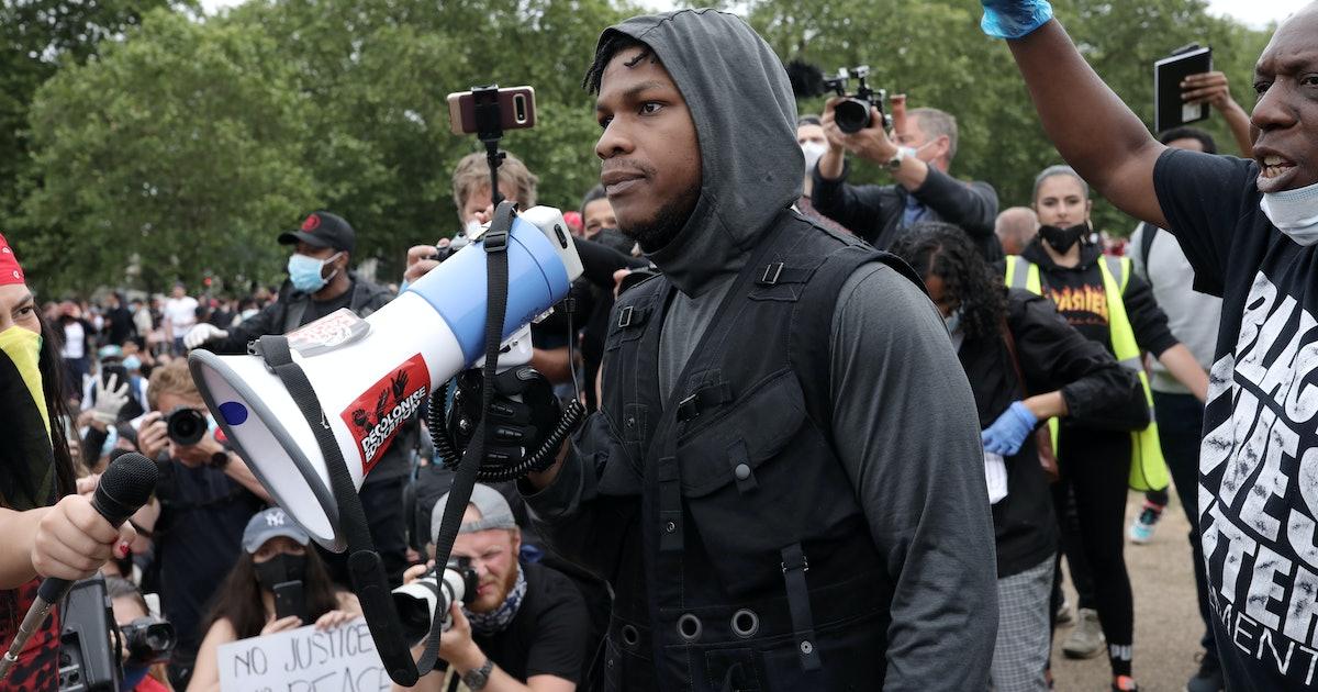 John Boyega's Anti-Racist Protest Speech Was Simply Masterful