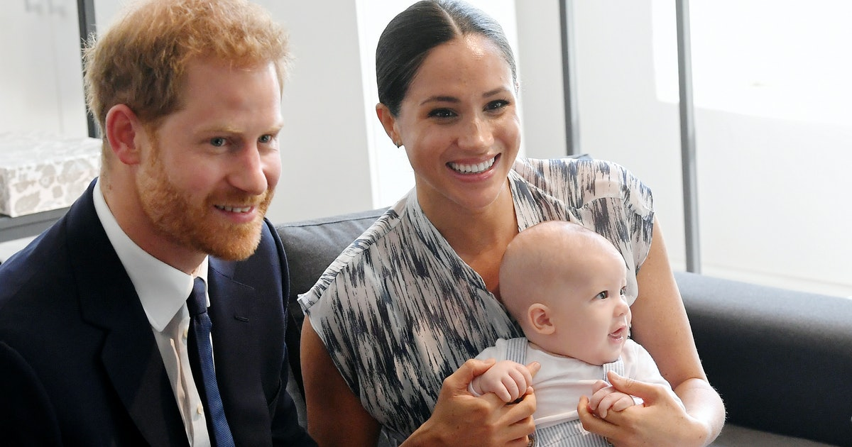 Baby Archie's Reported First Words will Make You Smile