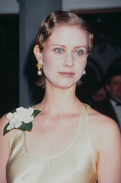 Cynthia Nixon at the opening night of 'Indiscretions', 1995
