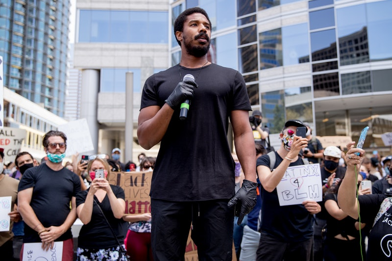 Michael B. Jordan's Black Lives Matter Protest Speech Calls On Hollywood