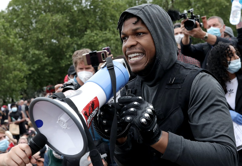John Boyega's Message To His Black Lives Matter Supporters Looks To The Future