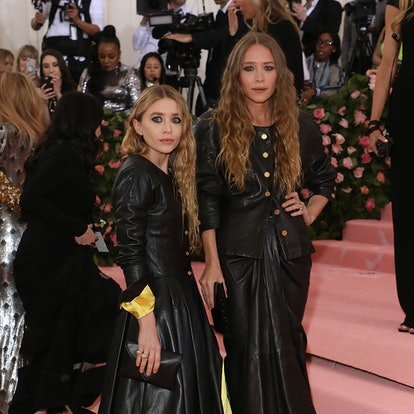 """Mary-Kate and Ashley Olsen attend the 2019 Met Gala celebrating """"Camp: Notes on Fashion"""" at The Metropolitan Museum of Art on May 6, 2019 in New York City."""