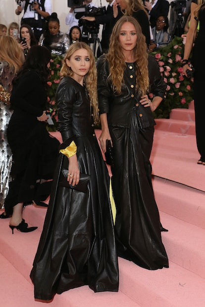 """Mary-Kate and Ashley Olsen attend the 2019 Met Gala celebrating """"Camp: Notes on Fashion"""" at The Metr..."""