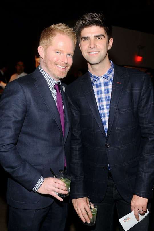 Jesse Tyler Ferguson and Justin Mitka welcomed their first baby together.