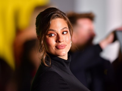 Ashley Graham multitasked while breast pumping.