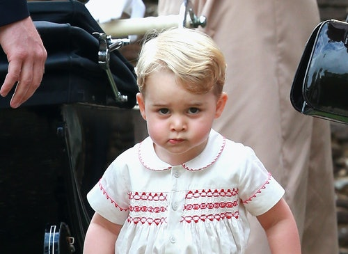 Prince George has become something of a legend when it comes to making funny faces.