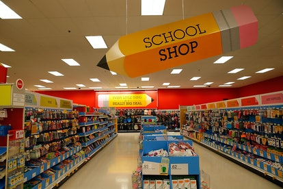 Target's Teacher Prep Event gives 15% to all teachers through August 29.